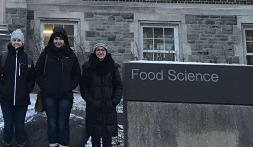 Alunas de Doutorado realizam intercâmbio no Canadá