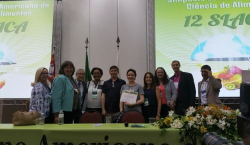 Trabalho desenvolvido no Labgrãos recebe prêmio de excelência científica