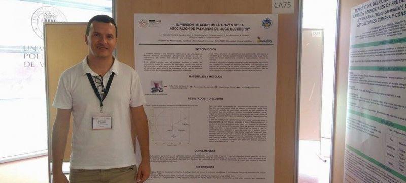 Labgrãos presente em congresso sobre análise sensorial, na Espanha